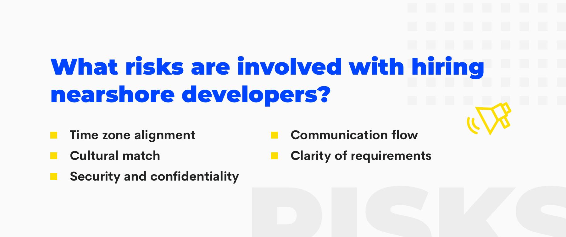 risks when outsource salesforce development